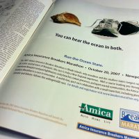 Amica Marathon Runner's World Ad