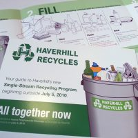 Haverhill Single-Stream Recycling Brochure