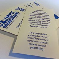 OPT Orthotics Cards
