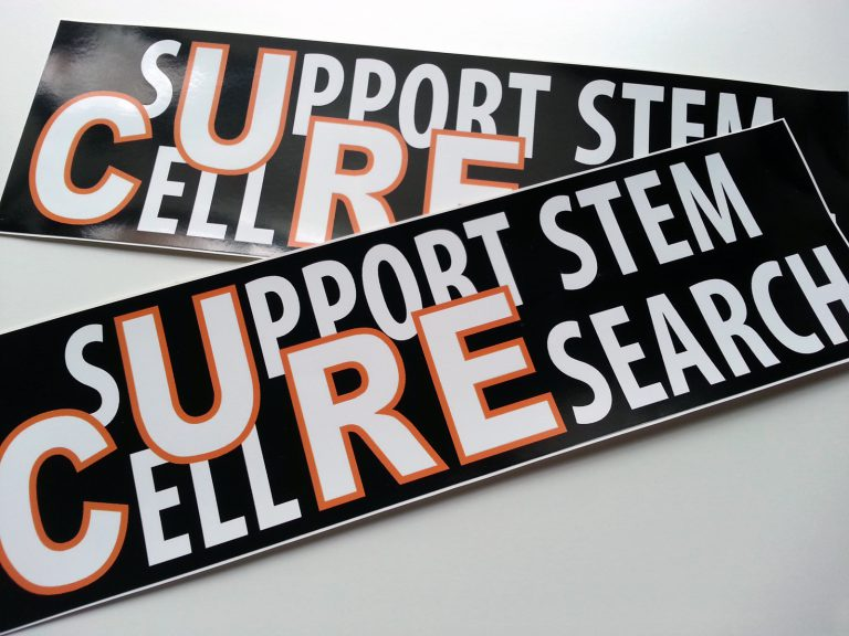 Stem Cell Research Sticker