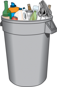 Recycling Bin Drawing