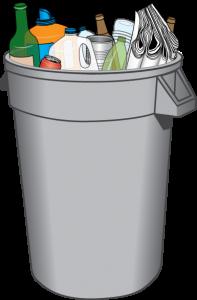 Recycling Bin Drawing